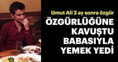 Umut Ali 2 ay sonra özgür