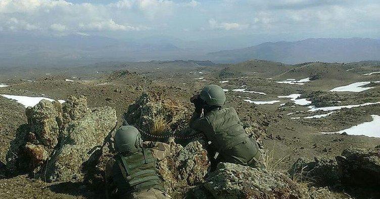 Ağrı'da terör operasyonunda bir asker yaralandı