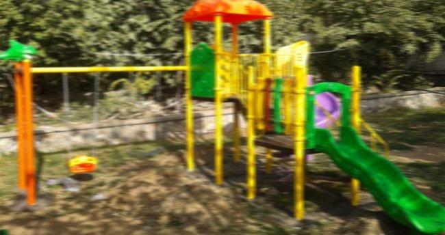 8 yaşındaki çocuk parkta dehşet saçtı