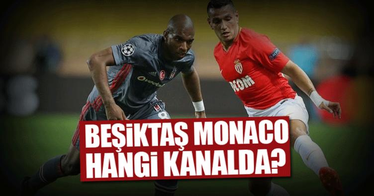 Bu akşam Beşiktaş Monaco maçı hangi kanalda ve saat kaçta? - Şifresiz mi?