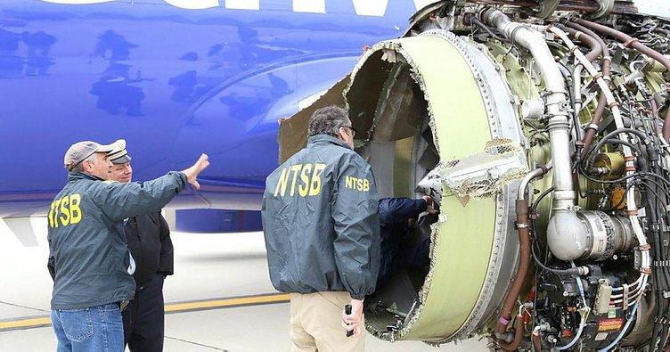 Faciayı kadın pilot engelledi