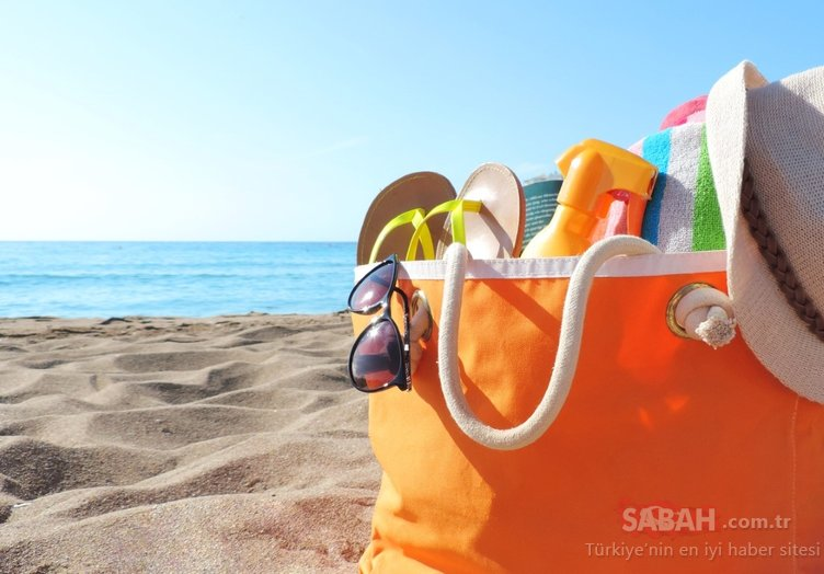 Tatile çıkacaklar dikkat! İşte bavulunuzun olmazsa olmazları...