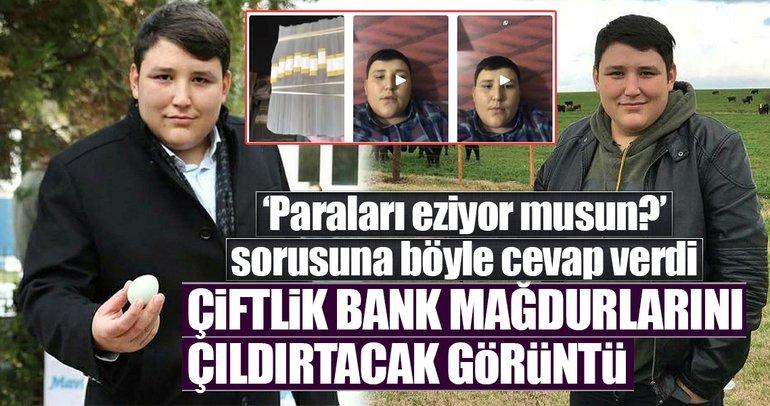 Çiftlik Bank mağdurlarını çıldırtacak görüntü