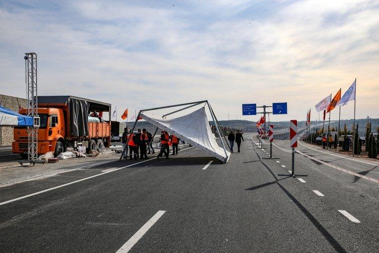 Dev bir proje daha olan Devegeçidi Köprüsü hizmete açıldı