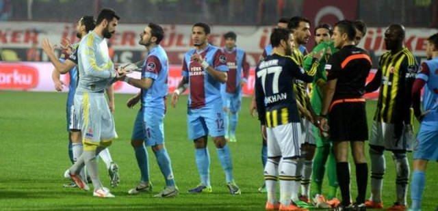 Trabzon - F.Bahçe geriliminin faturası