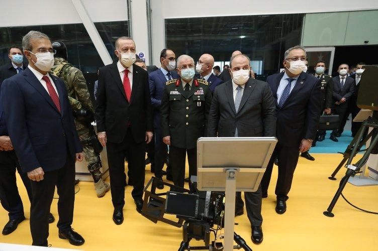 Son dakika görüntüleri! Başkan Erdoğan Aselsan'ın yeni tesis açılışına katıldı