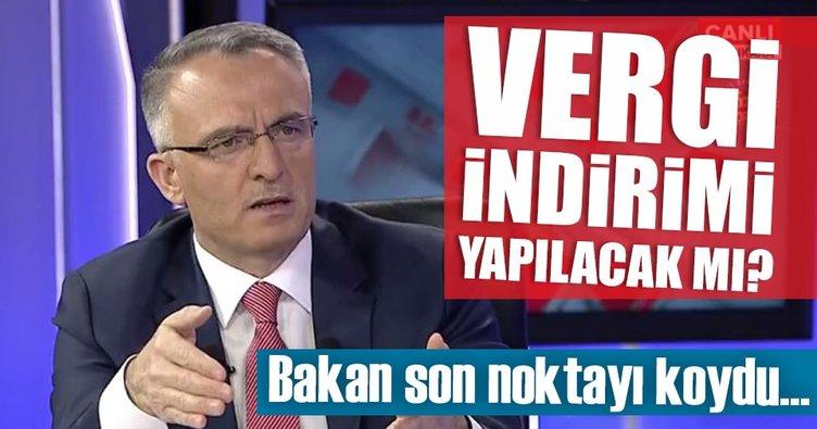 Bakan Ağbal'dan flaş vergi indirimi açıklaması