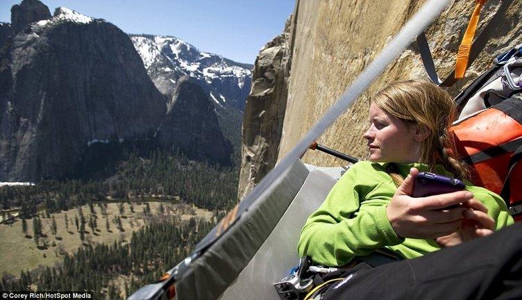 Yerden tam 3000 feet yukarıda yaşam kurdular