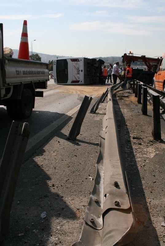 Boğaziçi Köprüsü'nde kazaların ardı arkası kesilmedi