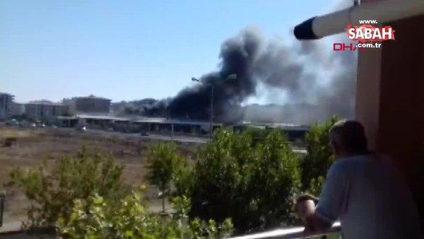 Son Dakika... Diyarbakır Sebze ve Meyve Hali'nde yangın | Video