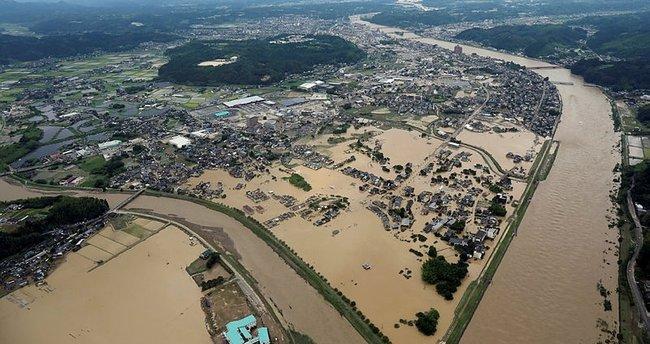 Japonya'nın güneybatısındaki taşkında ölenlerin sayısı 44'e yükseldi