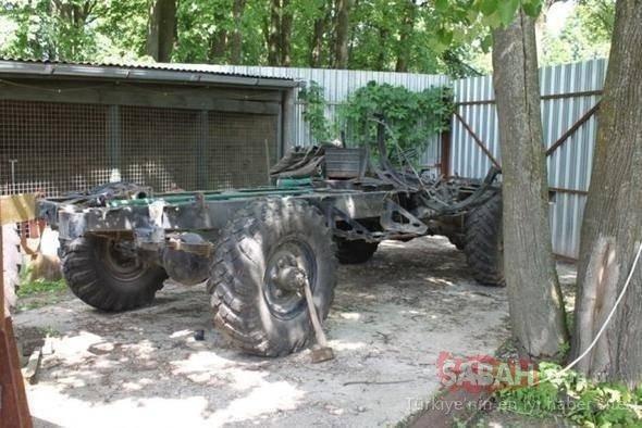 Bu model Mercedes'in bile aklına gelmedi! Rus mühendis Mercedes'i şaşkına çevirdi