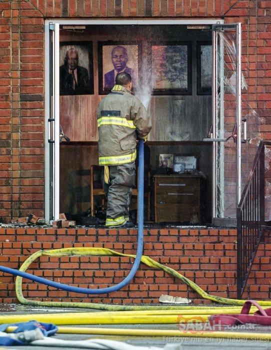 ABD'de kilise yangınlarının şüphelisi, polisin oğlu çıktı