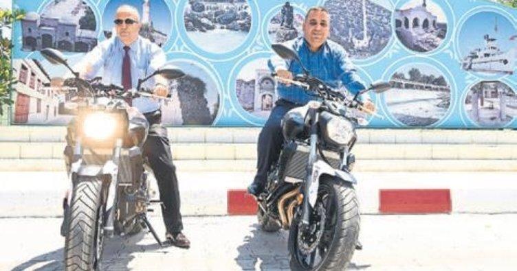 Tarsus Belediyesi'nden ilçe emniyetine motosiklet