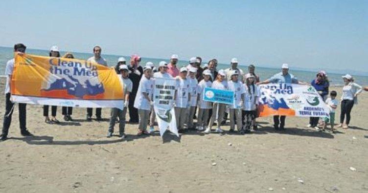 'Akdeniz'i Temizleyelim' etkinliği