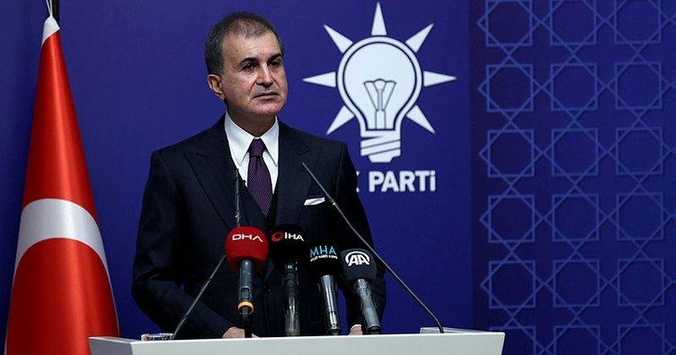 Son dakika haber: AK Parti Sözcüsü Ömer Çelik: Draghi'nin kullandığı ifadeyi iade ediyoruz
