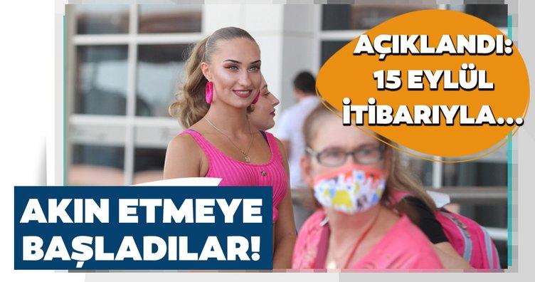 Son dakika! Antalya'ya gelen turist sayısı açıklandı