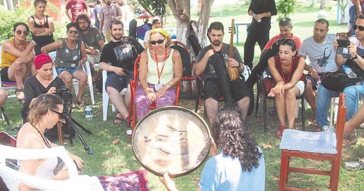 Müzik Köyü'nde ritim