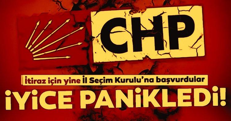 Son dakika: CHP iyice panikledi! İl Seçim Kurulu'na itiraz için yine başvurdu