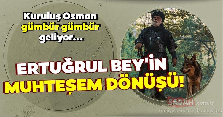 Kuruluş Osman'ın Ertuğrul Bey'i Tamer Yiğit herkesi şaşırttı! Kuruluş Osman gümbür gümbür geliyor!