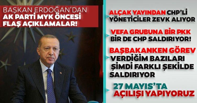 Başkan Recep Tayyip Erdoğan: Alçaklar camilerden yayın yaparken CHP yöneticileri zevk alıyor...