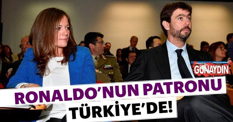 Juventus başkanı ile Türk aşkı Bodrum'da