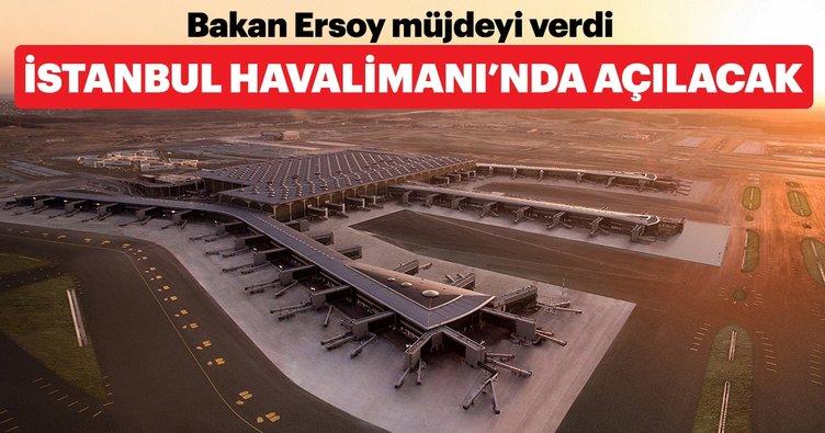Bakan Ersoy'dan İstanbul Havalimanı'nda müze açıklaması