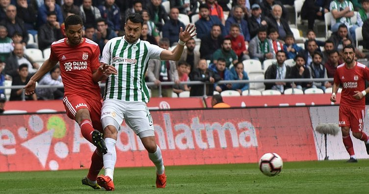 Atiker Konyaspor 1-1 Demir Grup Sivasspor (Maç Sonucu | Goller)
