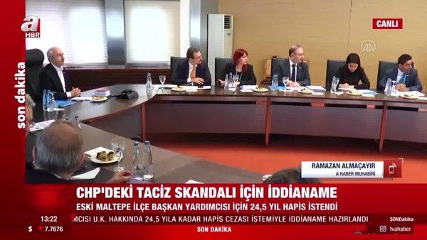 Son dakika! CHP'deki taciz skandalında istenilen ceza belli oldu | Video