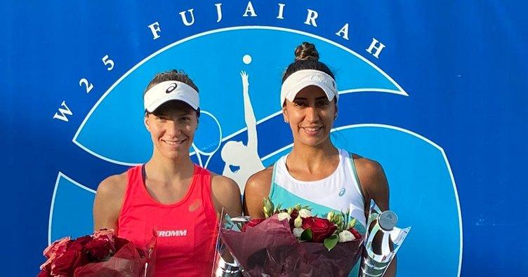 Çağla Büyükakçay Birleşik Arap Emirlikleri'nde şampiyon oldu!