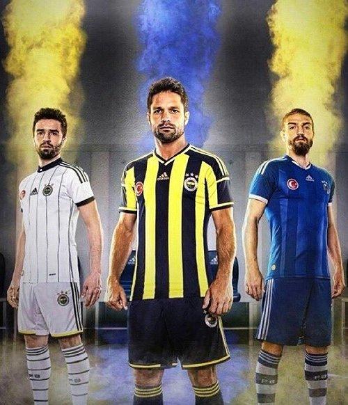 Fenerbahçe'nin yeni formaları görücüye çıktı