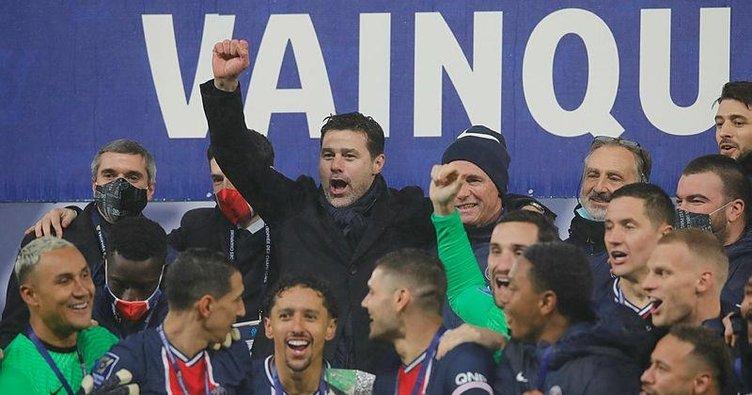 Fransa Süper Kupası'nın sahibi PSG!