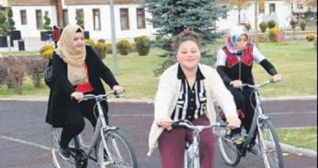 """Altındağ'da """"bisiklet"""" seferberliği"""