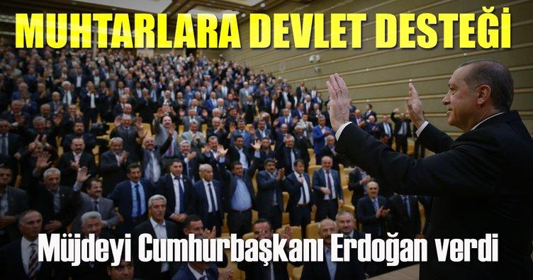 erdoğan muhtarlara müjde ile ilgili görsel sonucu