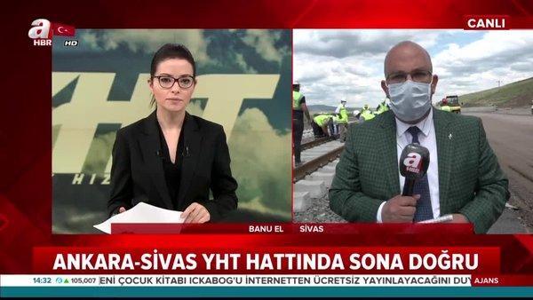 Ankara-Sivas YHT hattında geri sayım