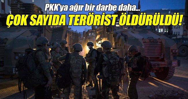 Çukurca'da 12 PKK'lı öldürüldü!