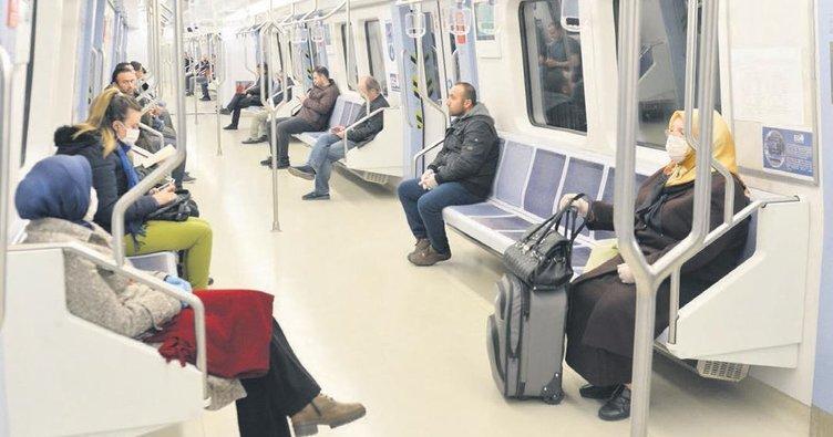 Başkentte toplu taşıma kullanımı yüzde 84 azaldı