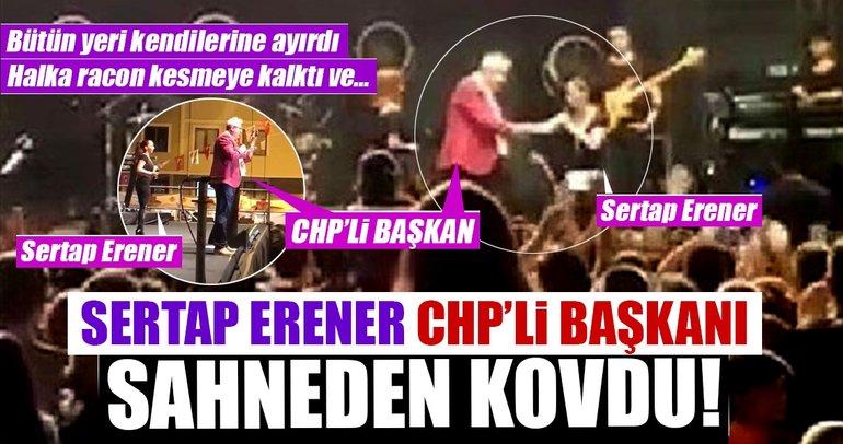 Sertab Erener öyle bir çıkış yaptı ki!