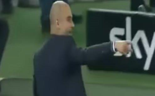 Guardiola'nın kadın hakeme ilginç tepkisi