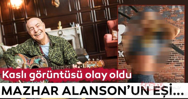 Mazhar Alanson'un eşi yıllara meydan okuyor!