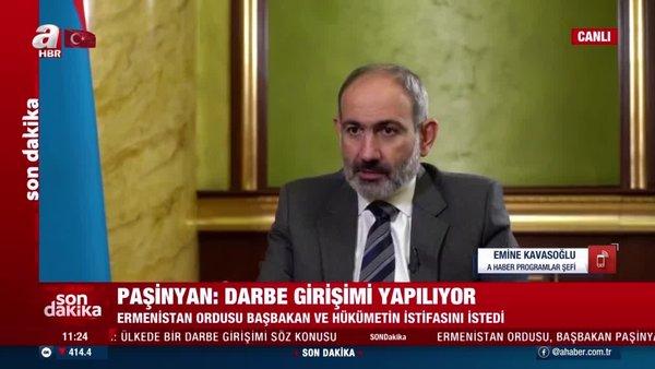 Ermenistan'dan flaş gelişme! Ordu Paşinyan'ın istifasını istedi | Video