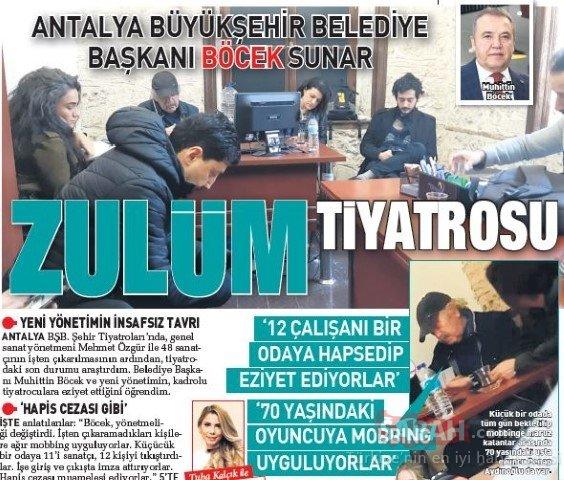 Mobbing yapan Antalya Büyükşehir Belediyesi kaybetti! Mehmet Özgür davayı kazandı görevine dönüyor!