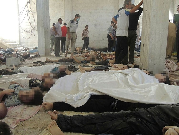 Suriye'deki kimyasal silah katliamının yeni görüntüleri ortaya çıktı