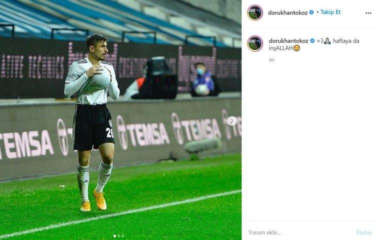 Beşiktaşlı yıldız Dorukhan Toköz'den kafa karıştıran paylaşım!