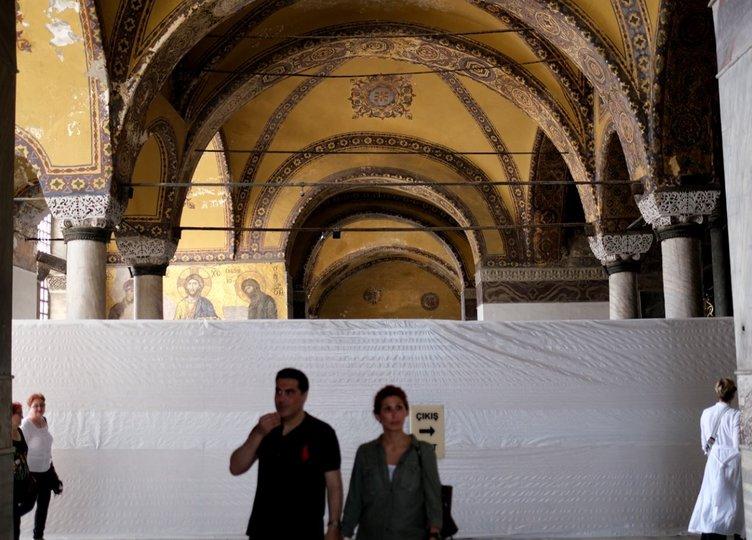 Ayasofya´nın gizemli tünellerine girilecek! Tarihin en büyük bilimsel restorasyonu