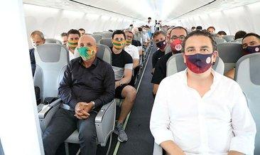 İki Süper Lig ekibi aynı uçakta! Rota İstanbul