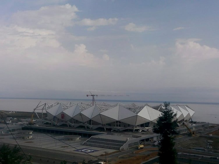 Trabzonspor'un yeni stadyumunda geri sayım