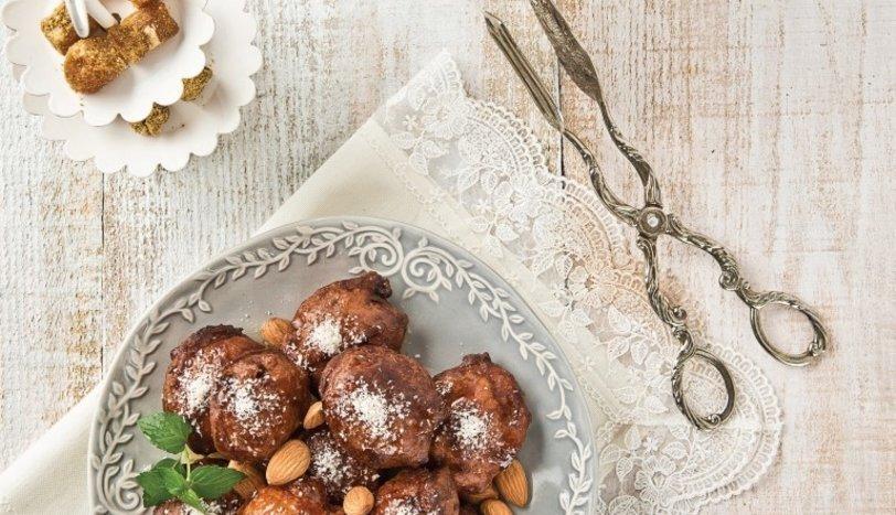 Kuruyemişli mayalı tatlı