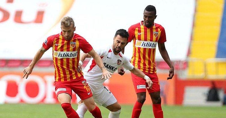 Kayserispor 1-1 Gaziantep FK | MAÇ SONUCU