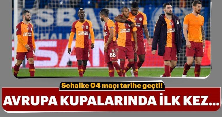 Schalke 04 - Galatasaray maçından kareler